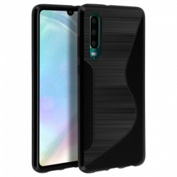 SILICONE S HUAWEI P 30 LITE NOIRE