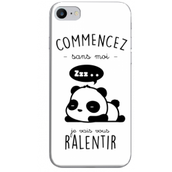COQUE SILICONE IPHONE 7/8 PANDA