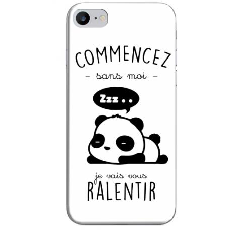 COQUE SILICONE IPHONE 7/8 PANDA
