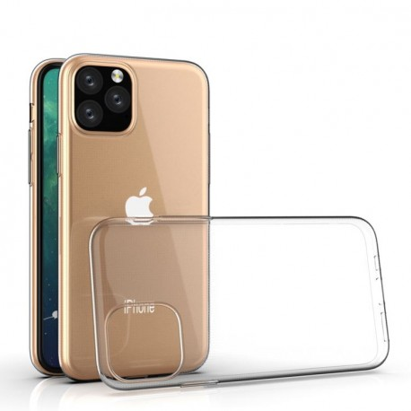SILICONE IPHONE 11 CLEAR TRANSPARENTE