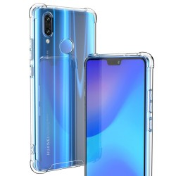 SILICONE ULTRA RENFORCÉE 4 COINS HUAWEI P20 LITE