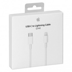 CÂBLE USB-C VERS LIGHTNING 2M