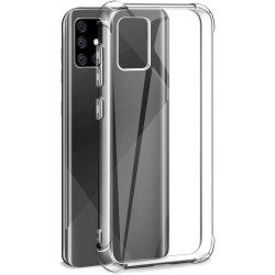 SILICONE POUR SAMSUNG GALAXY A71 RENFORCEE 4 COINS