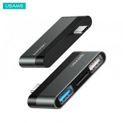 USAMS- MINI CONVERTISSEUR ADAPTATEUR USB TYPE-C (USB+HDMI)