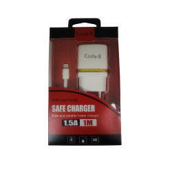 CHARGEUR 2 EN 1 COMPATIBLE IPHONE 5/5S/5C/6/6S/6+/7/7+