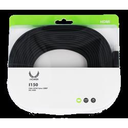 CÂBLE HDMI NYLON 1080P- 5M NOIR-iHOWER