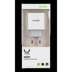 CHARGEUR PORT USB-C 18W- iHOWER