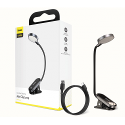 LAMPE A PINCE RECHARGEABLE PAR USB- BASEUS