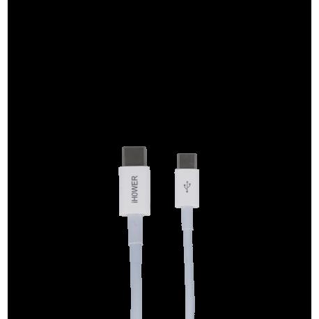 CABLE USB-C VERS USB-C 1.2M-iHOWER