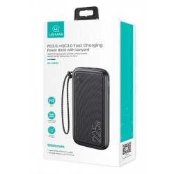 BATTERIE EXTERNE USAMS 10000mAh CHARGE RAPIDE 22.5W