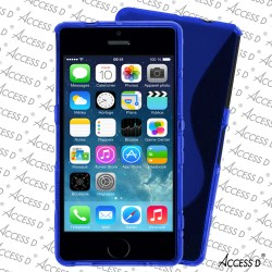 SILICONE S IPHONE 4/4S BLEU