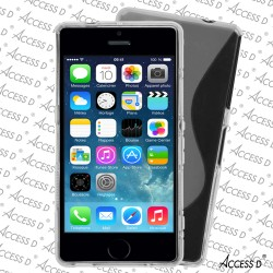 SILICONE S IPHONE 5/5S TRANSPARENTE