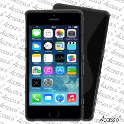 SILICONE S IPHONE 5/5S NOIR