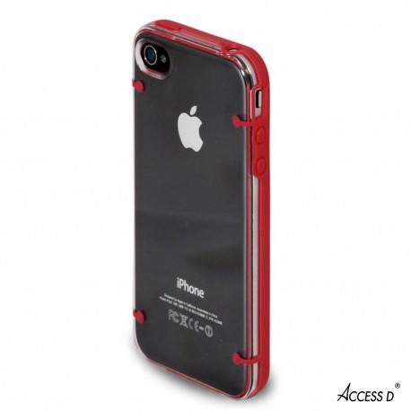 Coque Plexi Rouge pour IPHONE 6+/6S+
