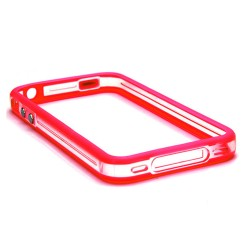 BUMPER IPHONE 5/5S ROUGE