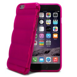 SILICONE MATELASSE ROSE POUR IPHONE 6+/6S+