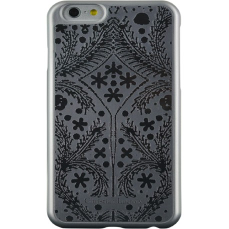 COQUE CHRISTIAN LACROIX IP6 PASEO METAL SILVER