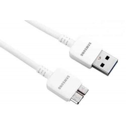 CABLE DATA SAMSUNG NOTE 3 BLANC 1M ORIGINAL ET-DQ10Y0WE
