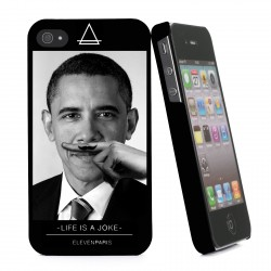 COQUE ELEVEN PARIS IPHONE 4 / 4S OBAMA
