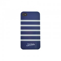 COQUE JEAN-PAUL GAULTIER IPHONE 5C MARINIERE BLEUE / BLANCHE