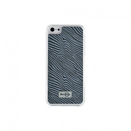 Coque rigide finition Zèbre noir pour Apple iPhone 5 / 5S / 5C