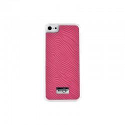 Coque rigide finition Zèbre rose pour Apple iPhone 5 / 5S / 5C