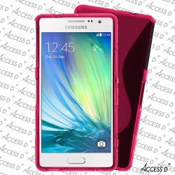 SILICONE S POUR SAMSUNG J5 ROSE