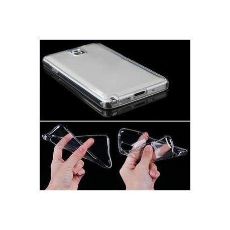 SILICONE SAMSUNG NOTE 4 CRYSTAL CLEAR TRANSPARENT