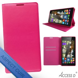 FOLIO NOKIA 535 AUTOMATIQUE ROSE