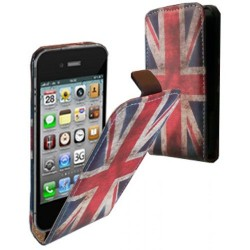 CASE IPHONE 5 ET 5S DRAPEAU ANGLAIS