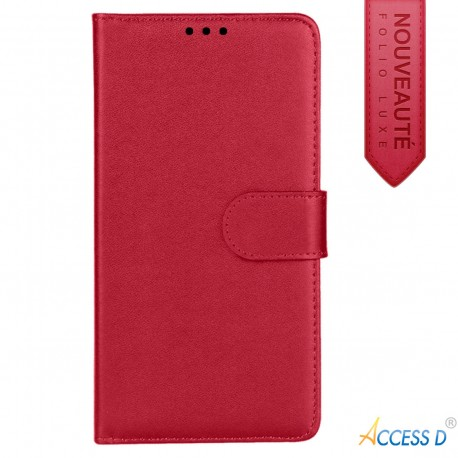 FOLIO SONY M2 ROUGE