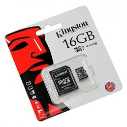 CARTE MEMOIRE MICRO SD/SDHC 16 GB KINGSTON