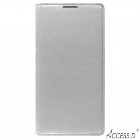 FOLIO POUR SAMSUNG GRAND PRIME BLANC AUTOMATIQUE