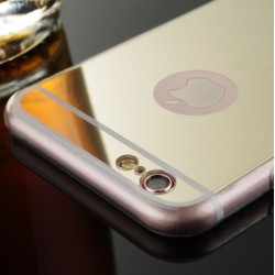 COQUE IPHONE 5/5S MIROIR GOLD