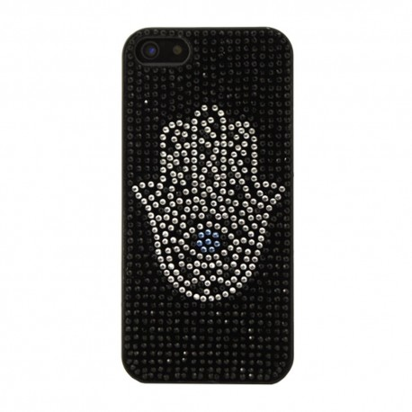 COQUE STRASS POUR IPHONE 5/5S MAIN DE FATMA