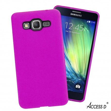 SILICONE SAMSUNG A5 LINE SERIE ROSE