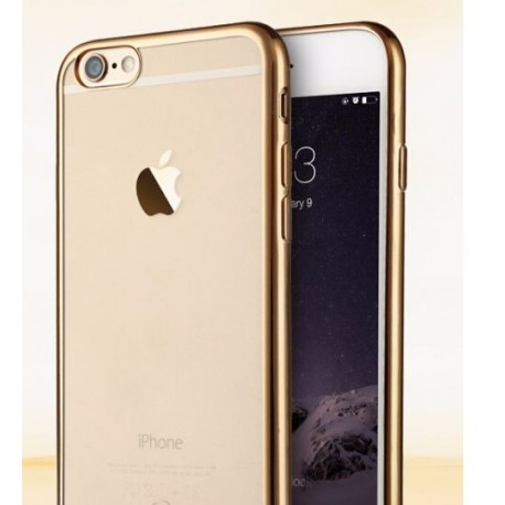 COQUE SILICONE IPHONE 6/6S CONTOUR OR