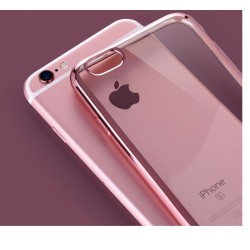 COQUE SILICONE IPHONE 5/5S CONTOUR ROSE