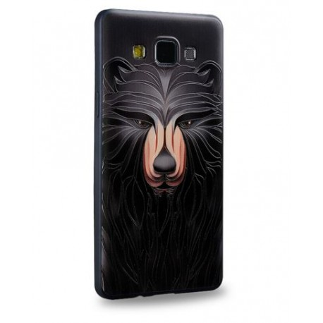 COQUE IPHONE 5/5S/SE MOTIF OURS RELIEF