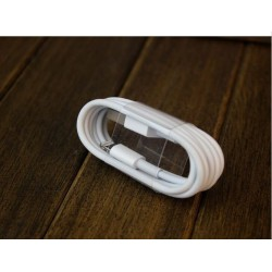 CABLE DATA CHARGEUR COMPATIBLE IPHONE 5 / 6 ET 7 BLANC