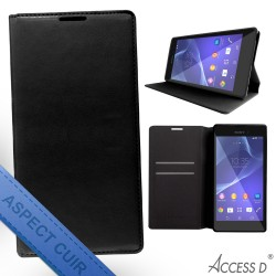 FOLIO ALCATEL IDOL 4 AUTOMATIQUE NOIR
