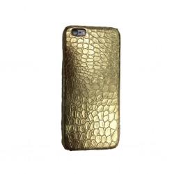COQUE CROCO IPHONE 6 ET 6S GOLD