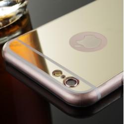 COQUE IPHONE 7 PLUS MIROIR GOLD