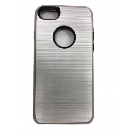 COQUE IPHONE 7 GRIS SILVER