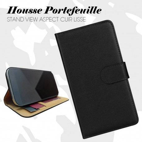 FOLIO IPHONE 6/6S NOIR