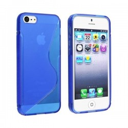 SILICONE S IPHONE 7 BLEU