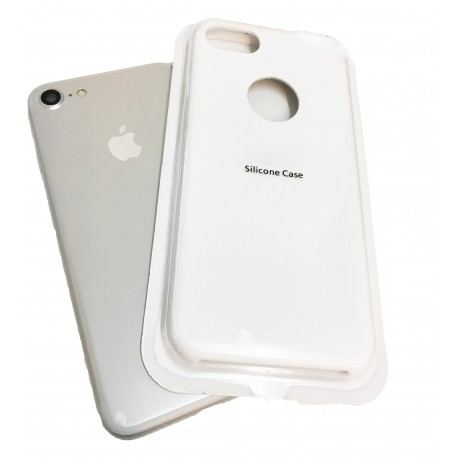 COQUE SOFT TOUCH IPHONE 7 BLANC