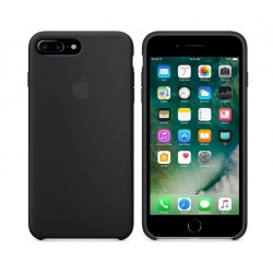 COQUE APPLE ORIGINALE IPHONE 7+ CUIR NATUREL NOIR