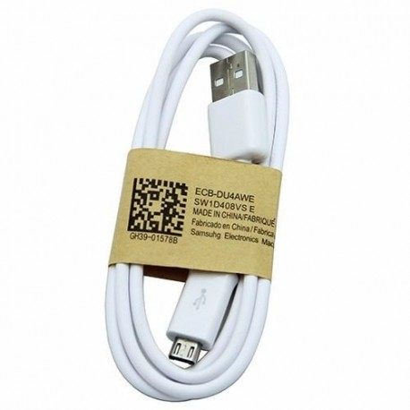 CABLE DATA COMPATIBLE MICRO USB BLANC