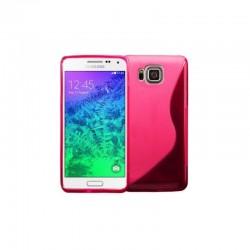 SILICONE S POUR SAMSUNG J3 2017 ROSE